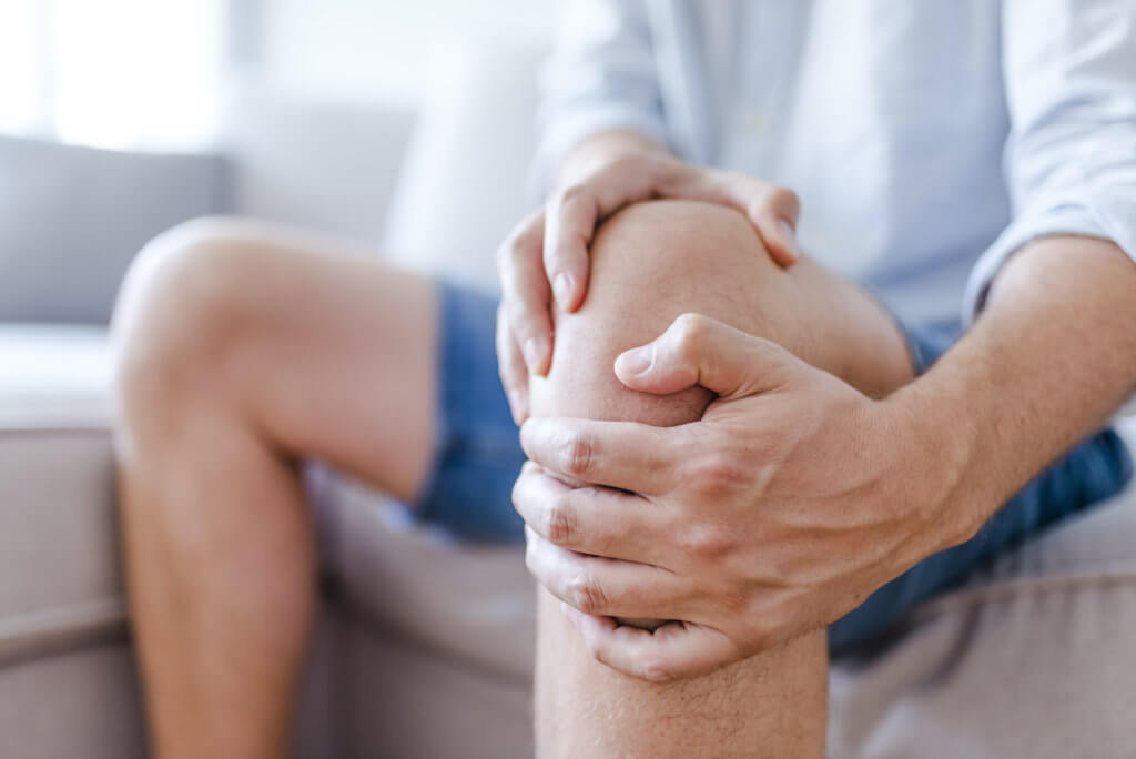 suffering from knee pain